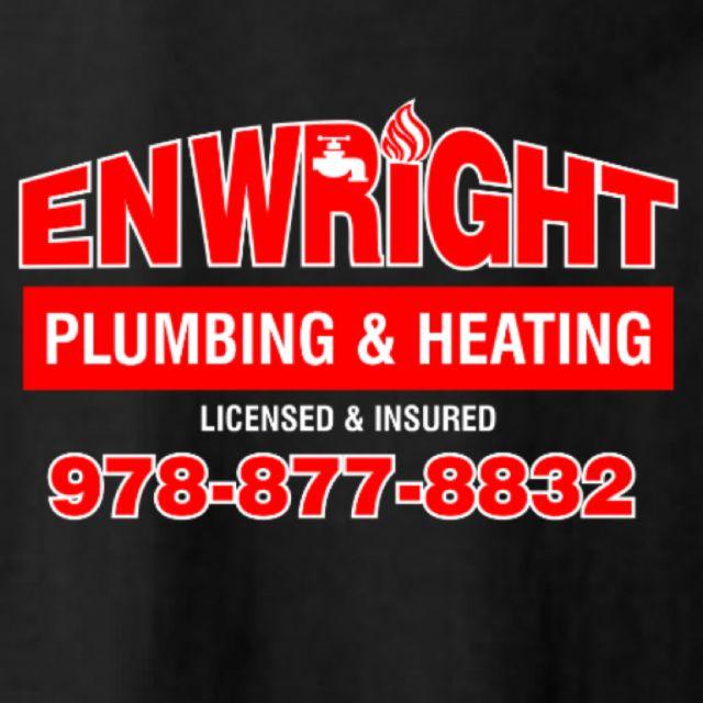 enwright plumbing logo